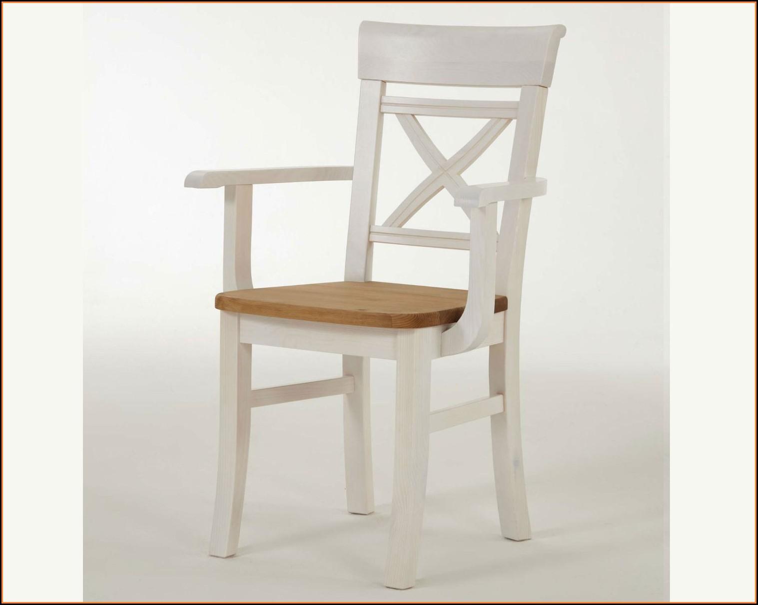 Esszimmerstühle Weiß Holz