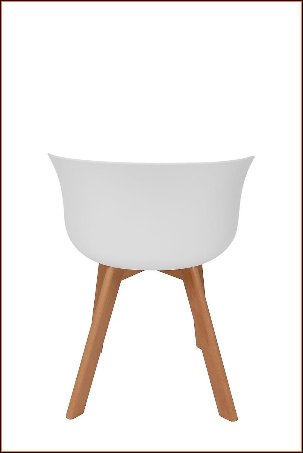 Esszimmerstuhl Weiß Holz