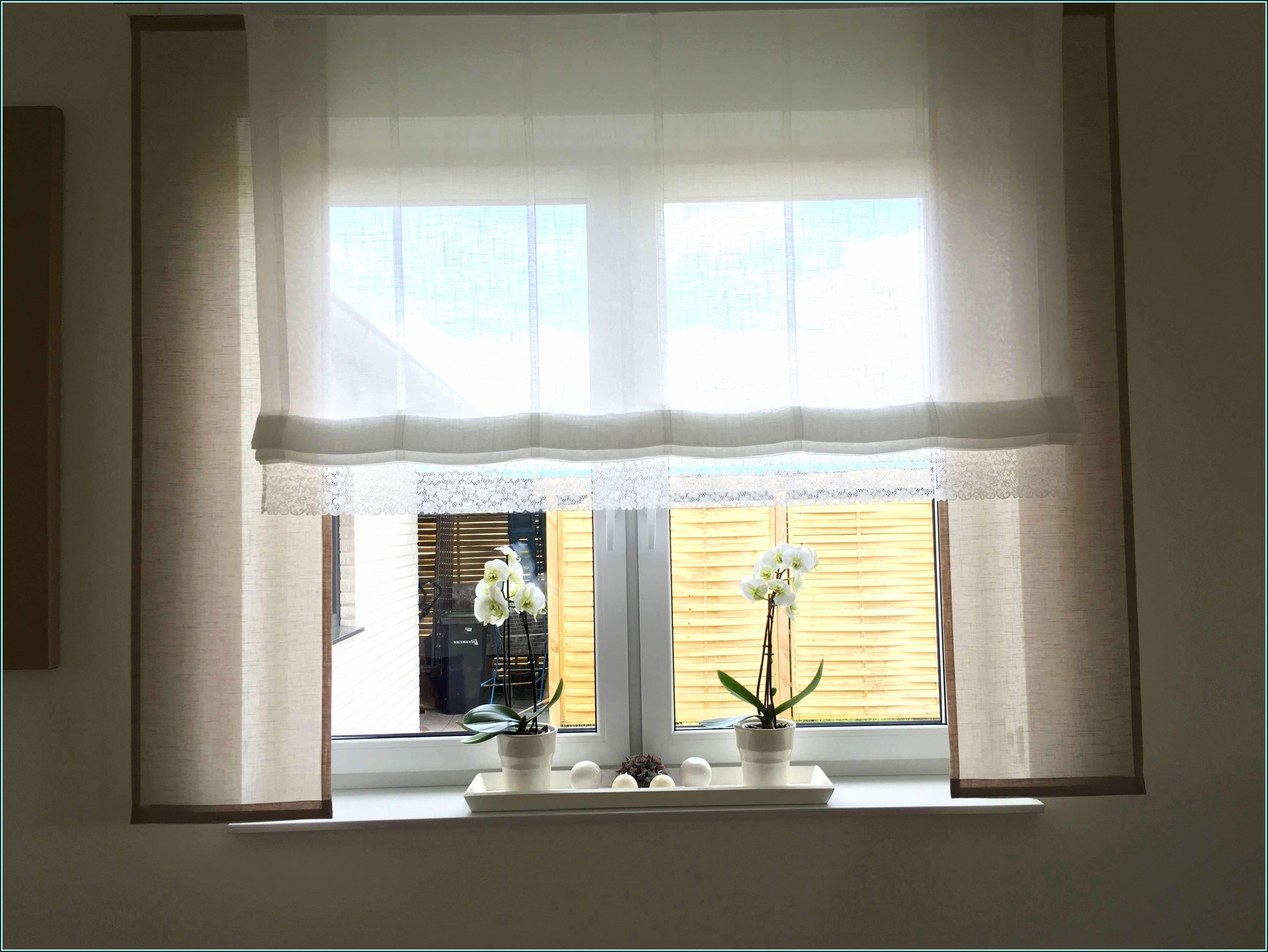 Gardinen Ideen Für Wohnzimmer Fenster