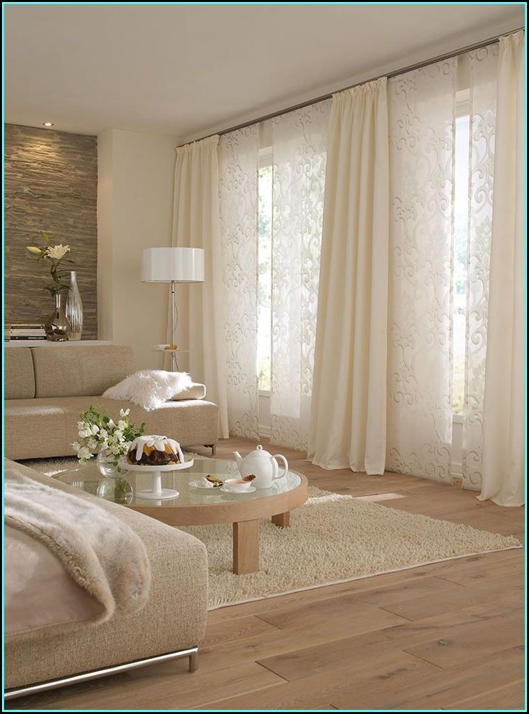 Gardinen Wohnzimmer Modern Ideen
