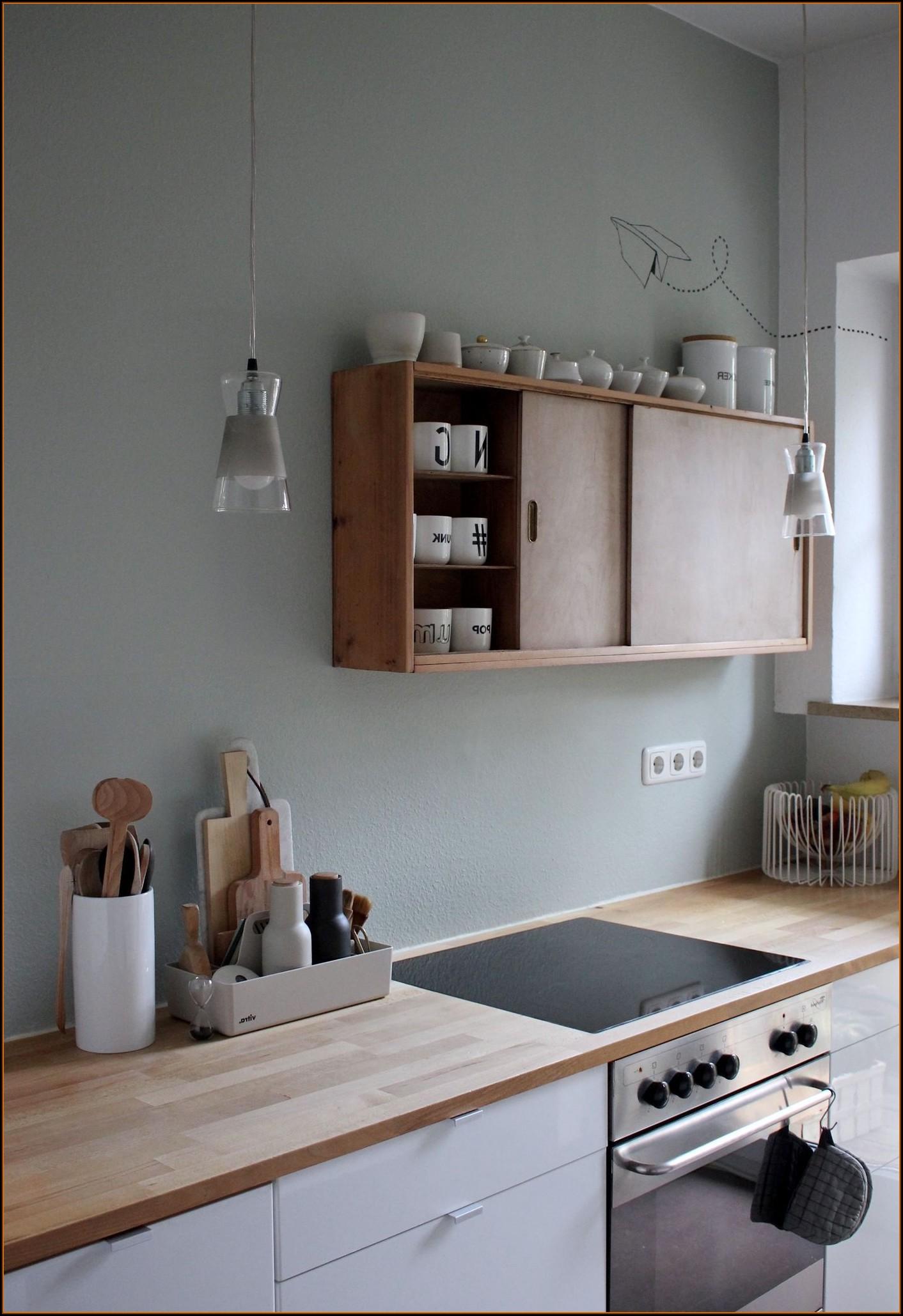 Küche Renovieren Ideen Wandfarbe
