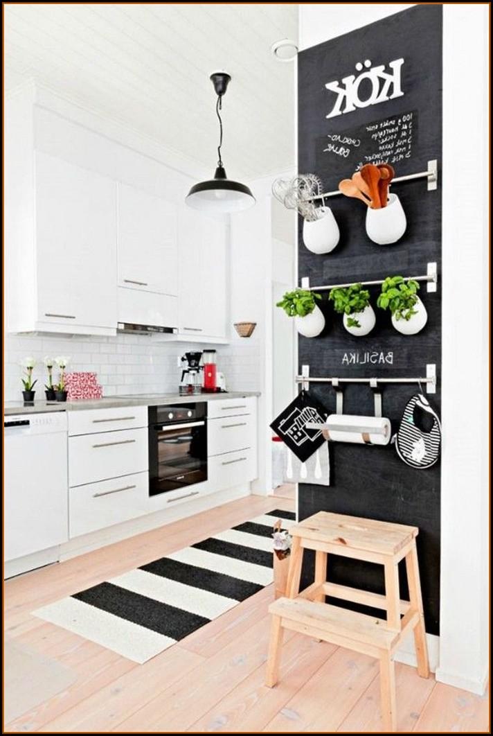 Küchen Deko Wand