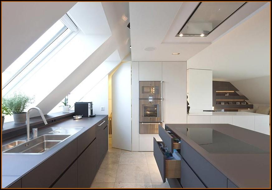 Küchen Ideen Dachgeschoss