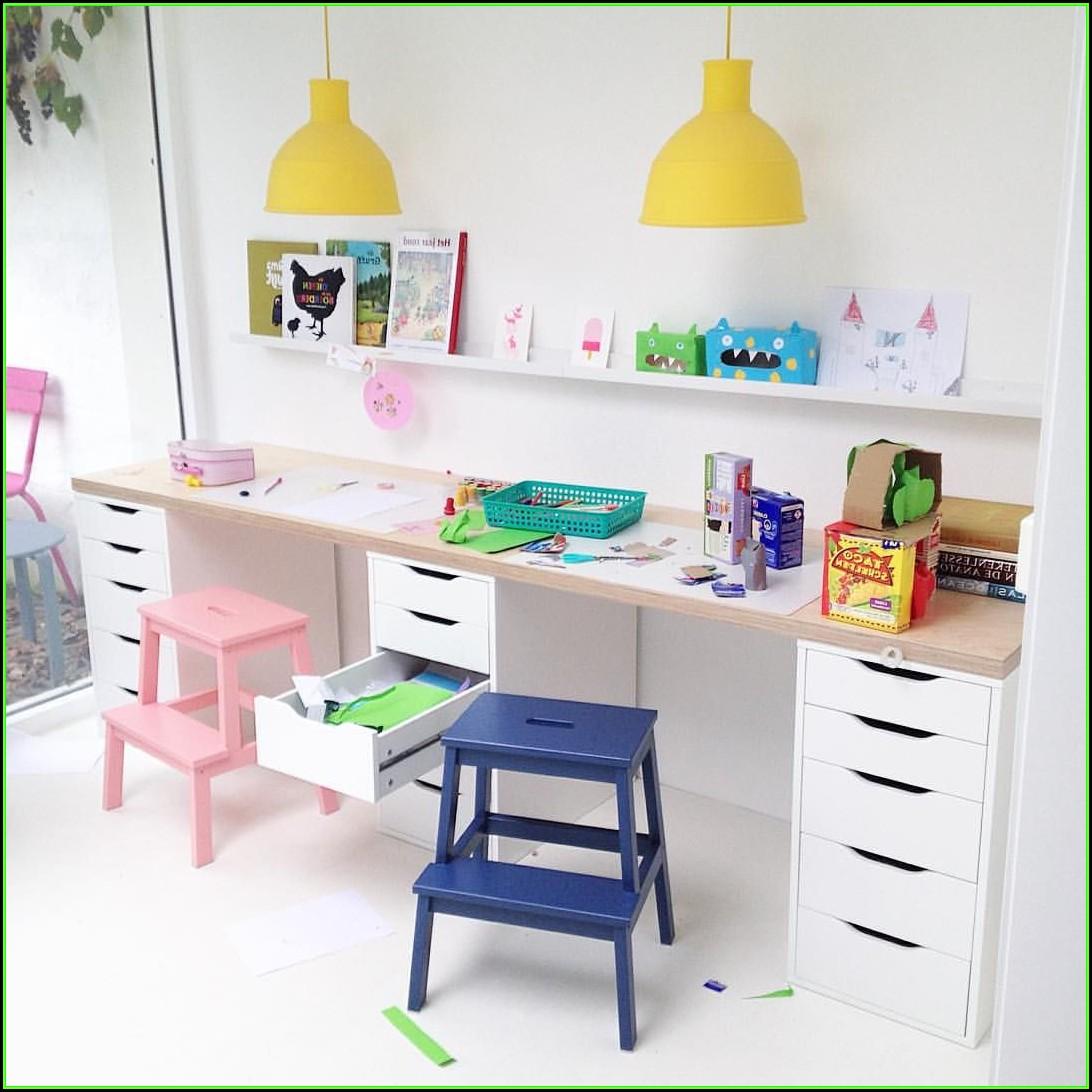 Schreibtisch Kinder Ikea Hack