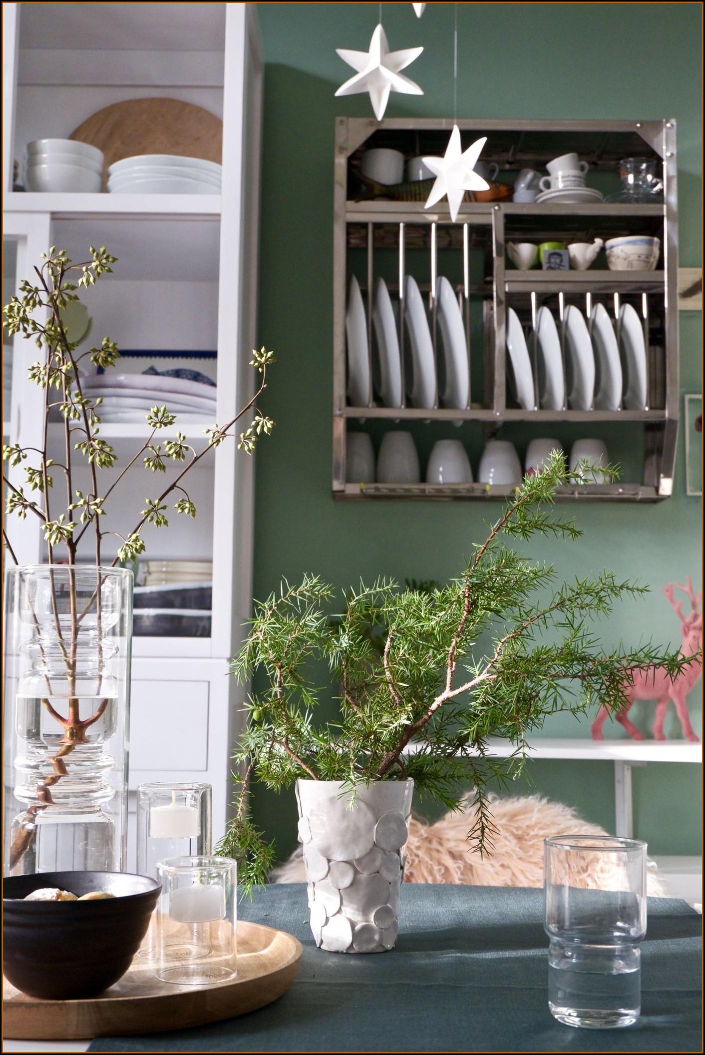 Wandfarben Ideen Küche Grün