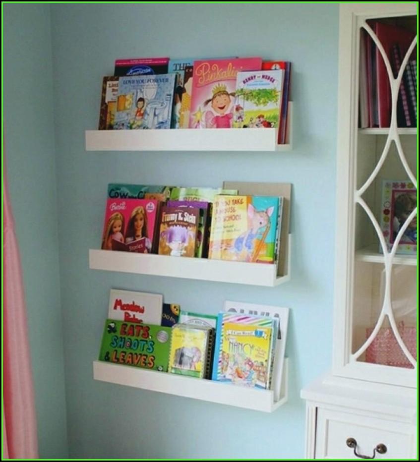 Wandregal Bücher Kinderzimmer Ikea