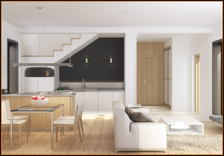 Wohnzimmer Esszimmer Küche Ideen