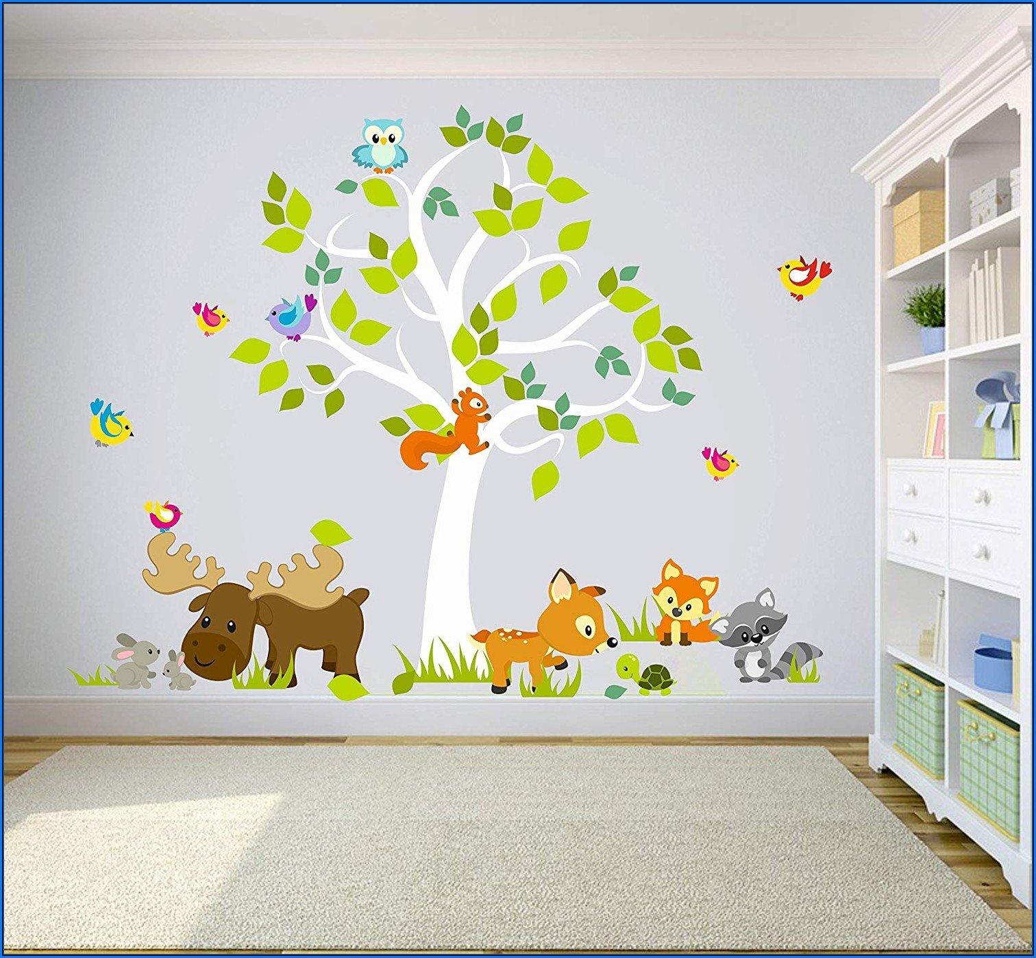 Aufkleber Wand Babyzimmer