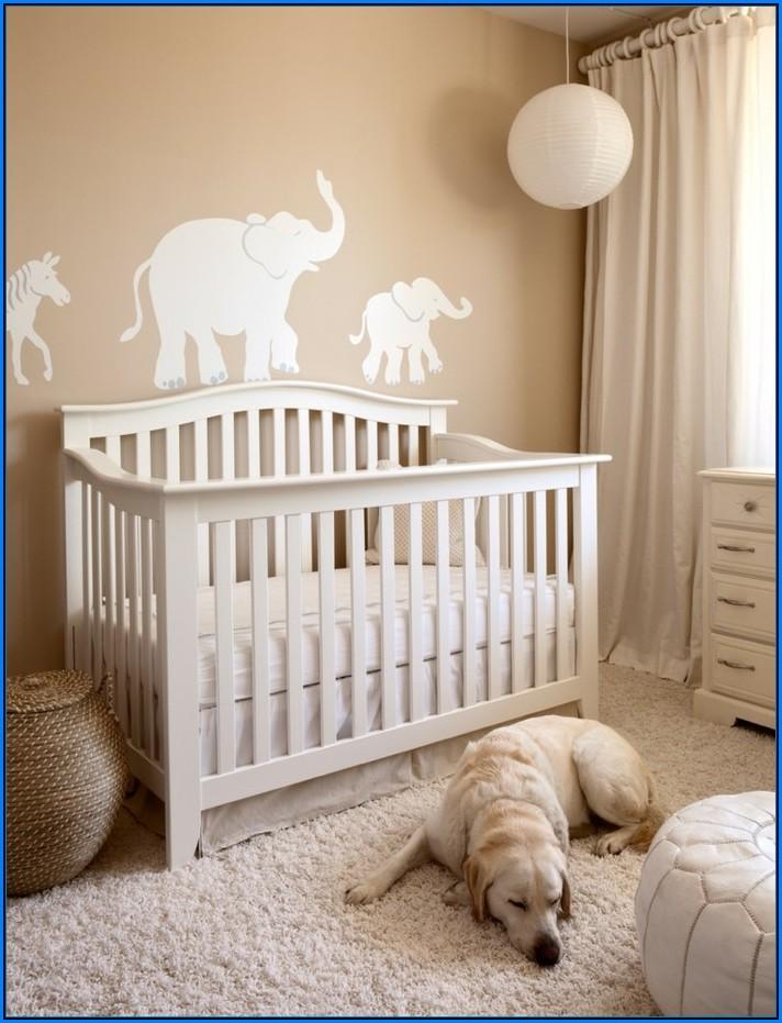 Babyzimmer Beige Weiß