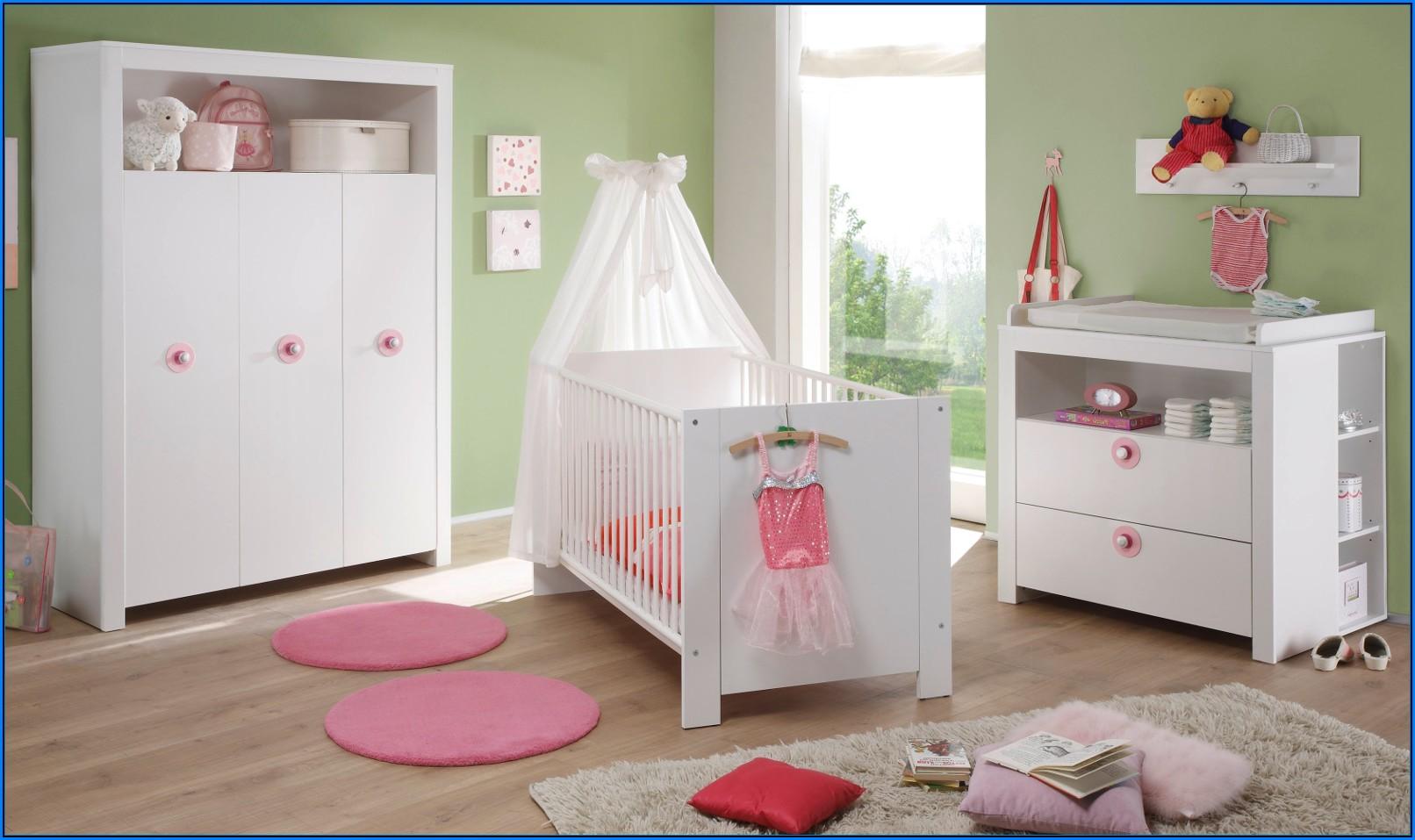 Babyzimmer Bella Weiß