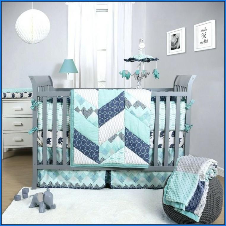 Babyzimmer Blau Weiß