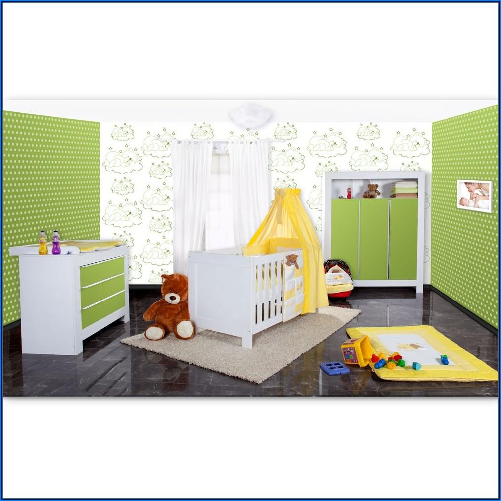 Babyzimmer Deko Grün