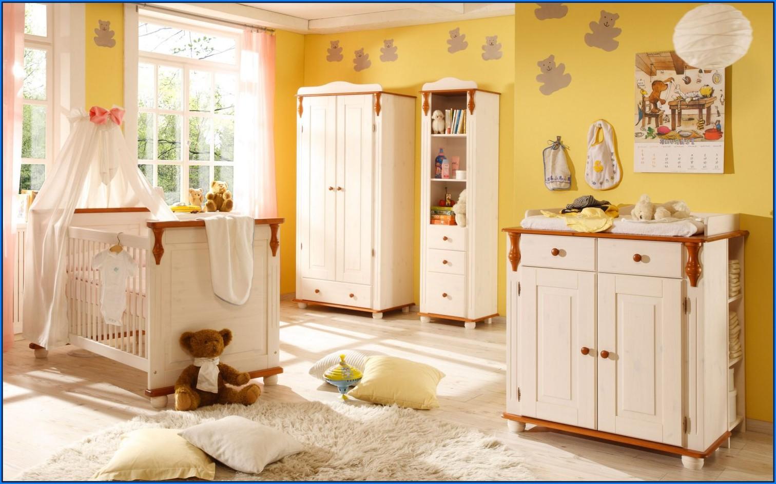 Babyzimmer Gestaltung Wandfarbe