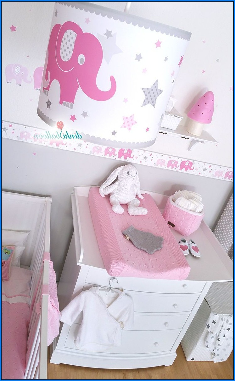 Babyzimmer Grau Pink