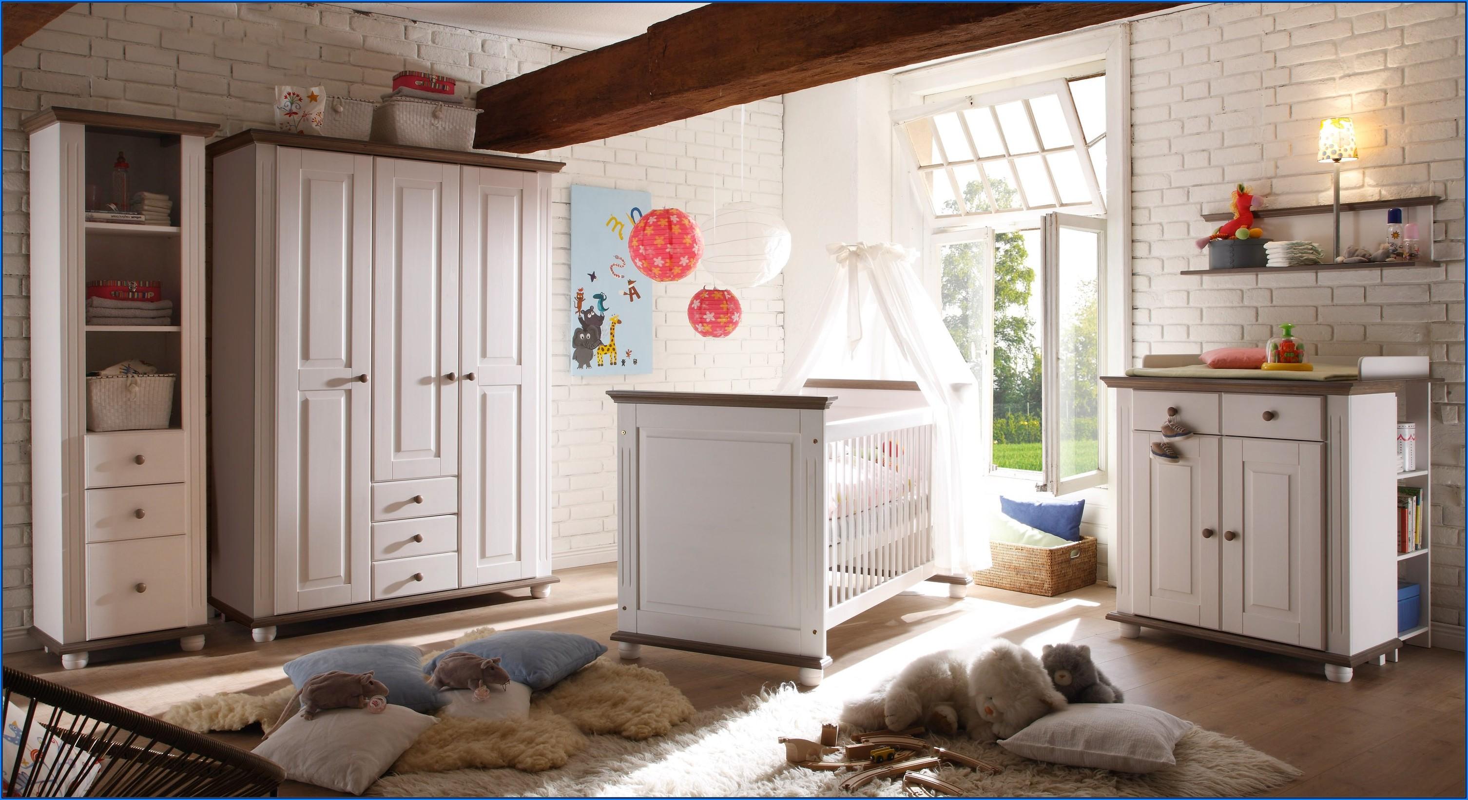 Babyzimmer Landhaus 6 Teilig