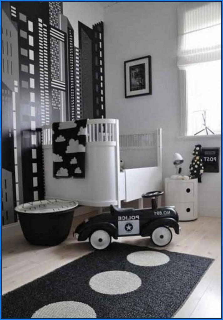 Babyzimmer Schwarz Weiß