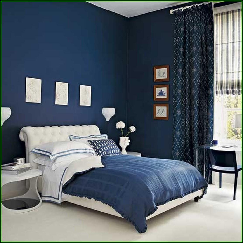 Schlafzimmer Blau: Deko Ideen Schlafzimmer Blau