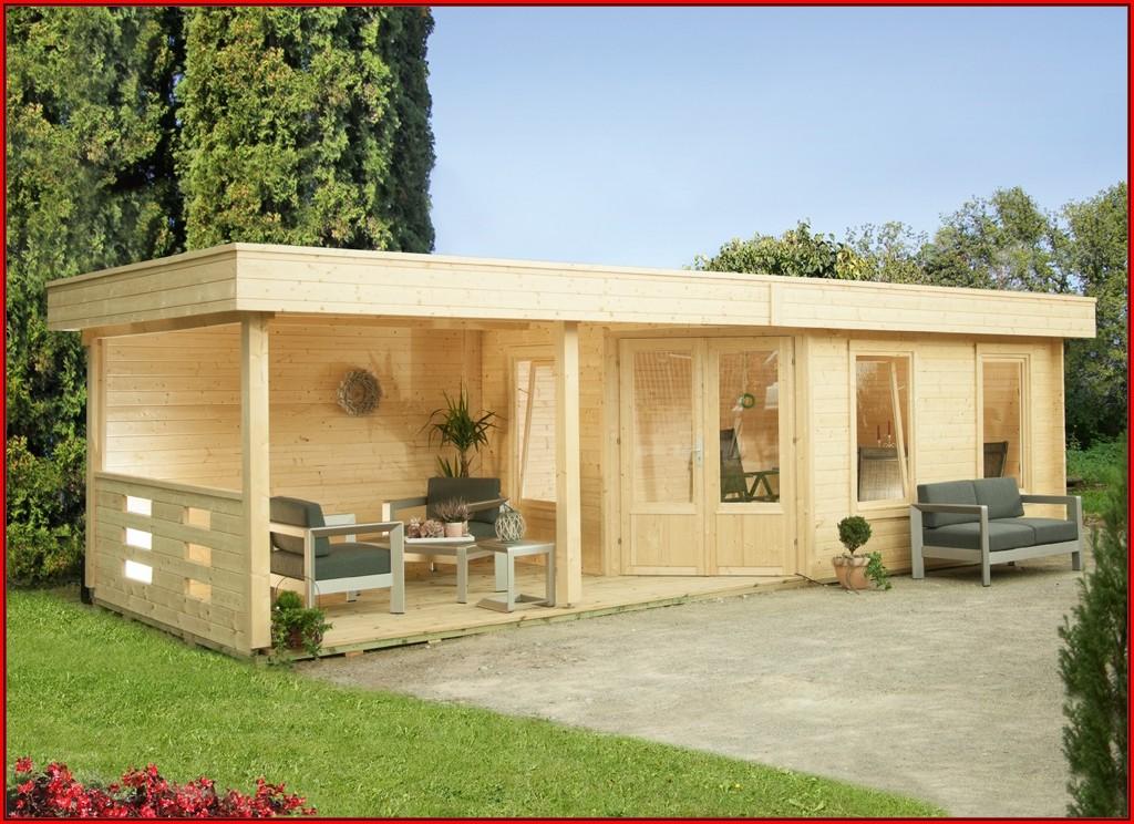 Gartenhaus Terrasse Ideen