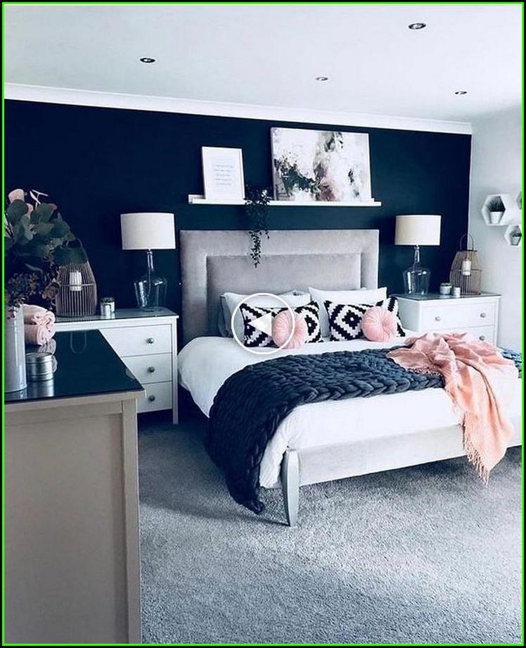 Ideen Für Schlafzimmer Wand