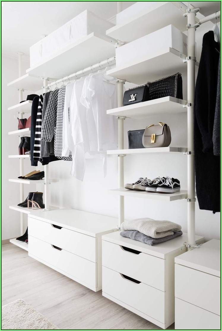 Ikea Ankleidezimmer Algot
