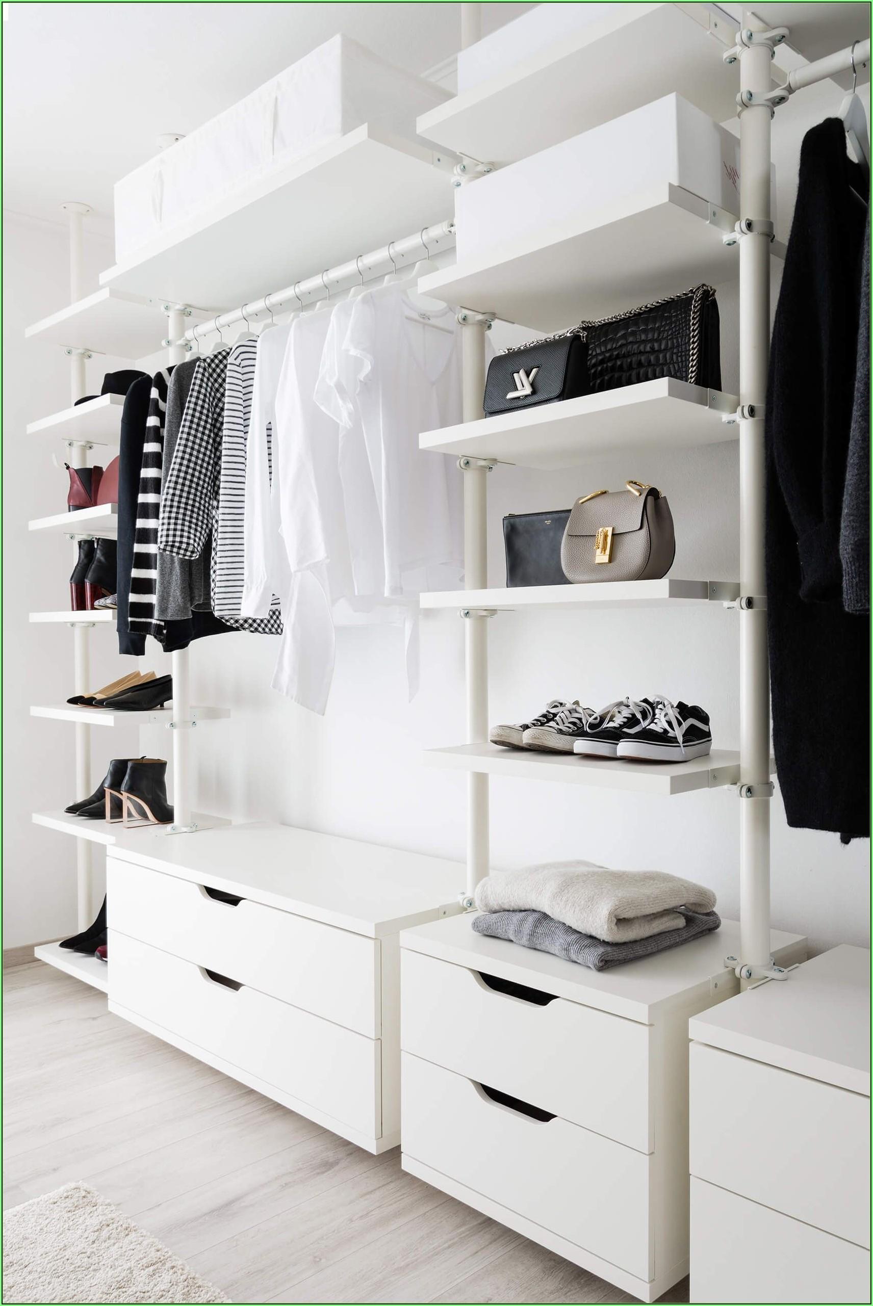 Ikea Regalsystem Ankleidezimmer