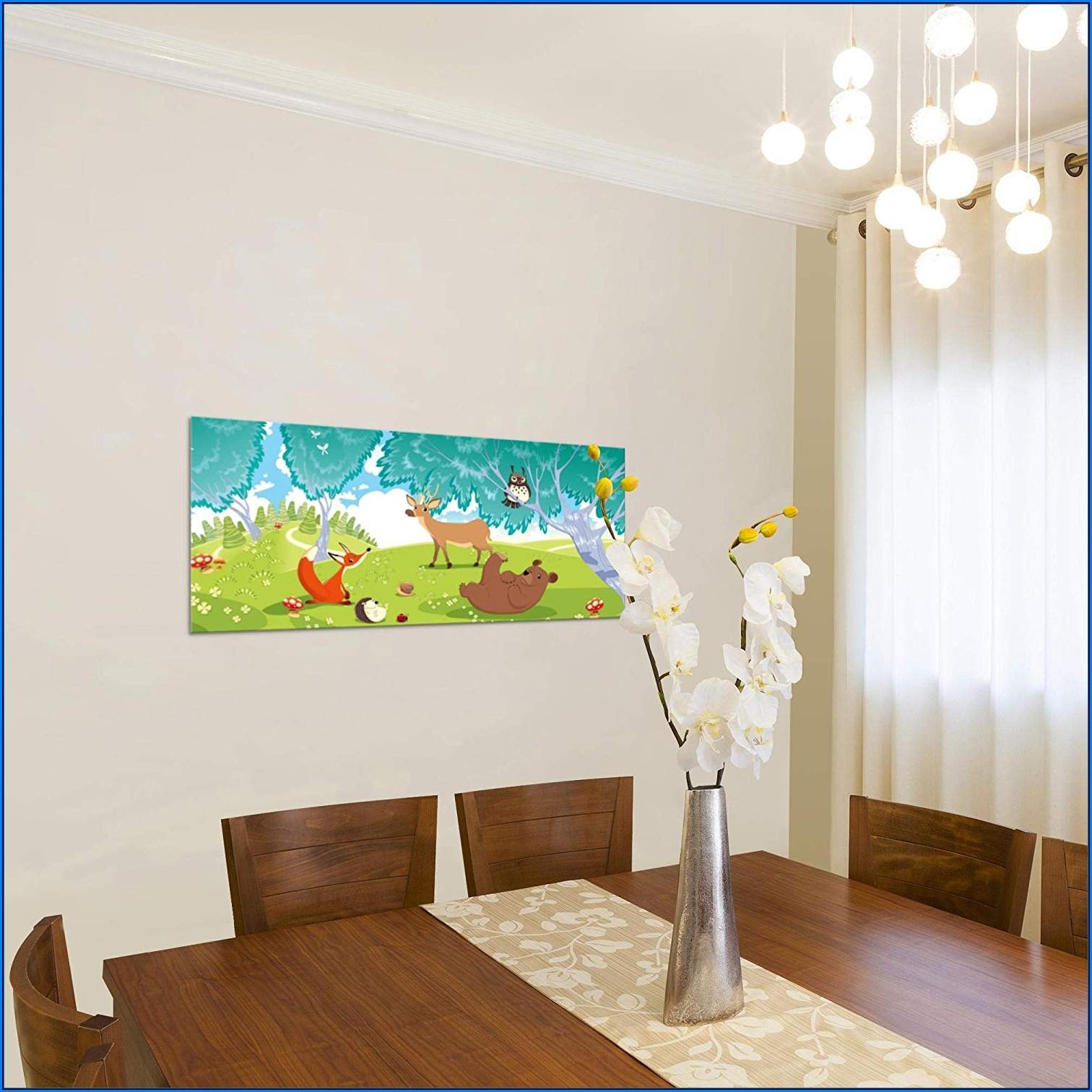 Kinderzimmer Bilder Leinwand Tiere