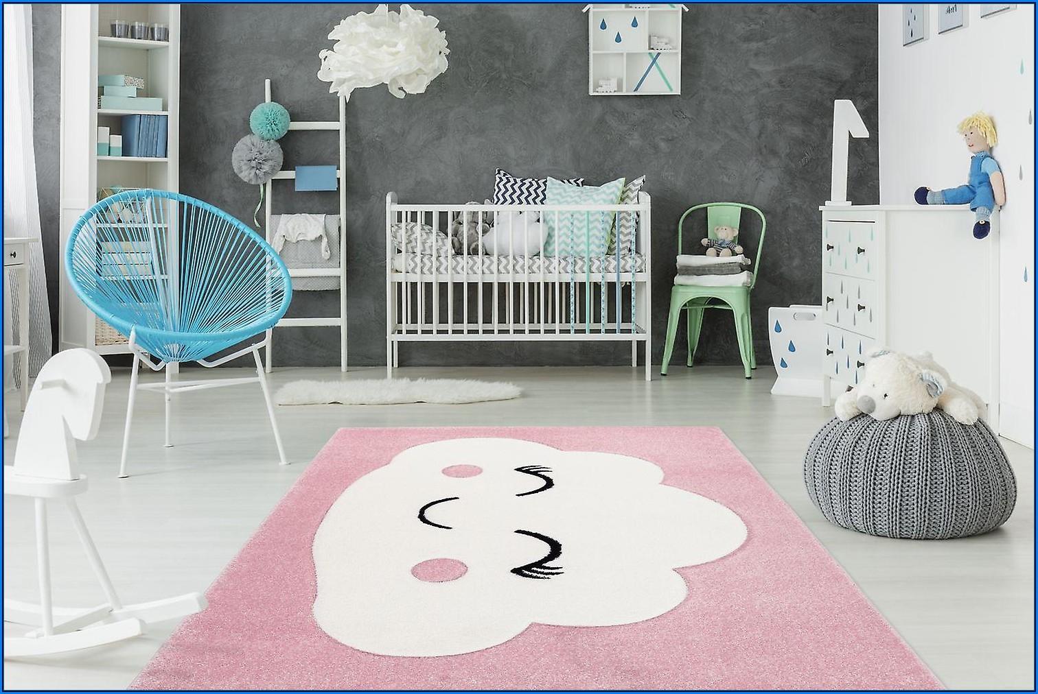 Kinderzimmer Teppich Wolke