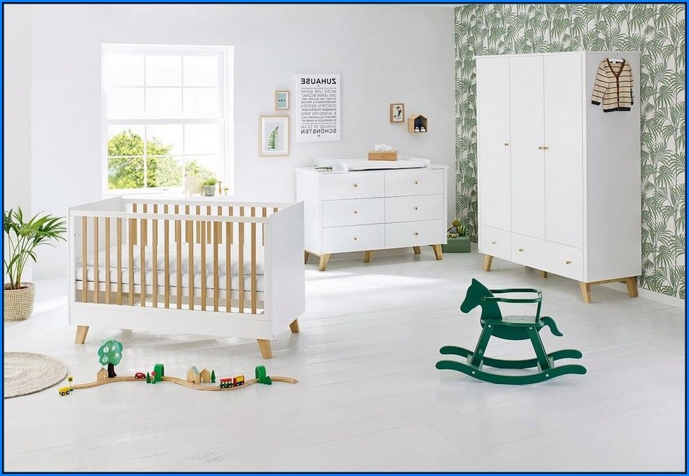 Pinolino 3 Tlg. Babyzimmer Polar Extrabreit Groß