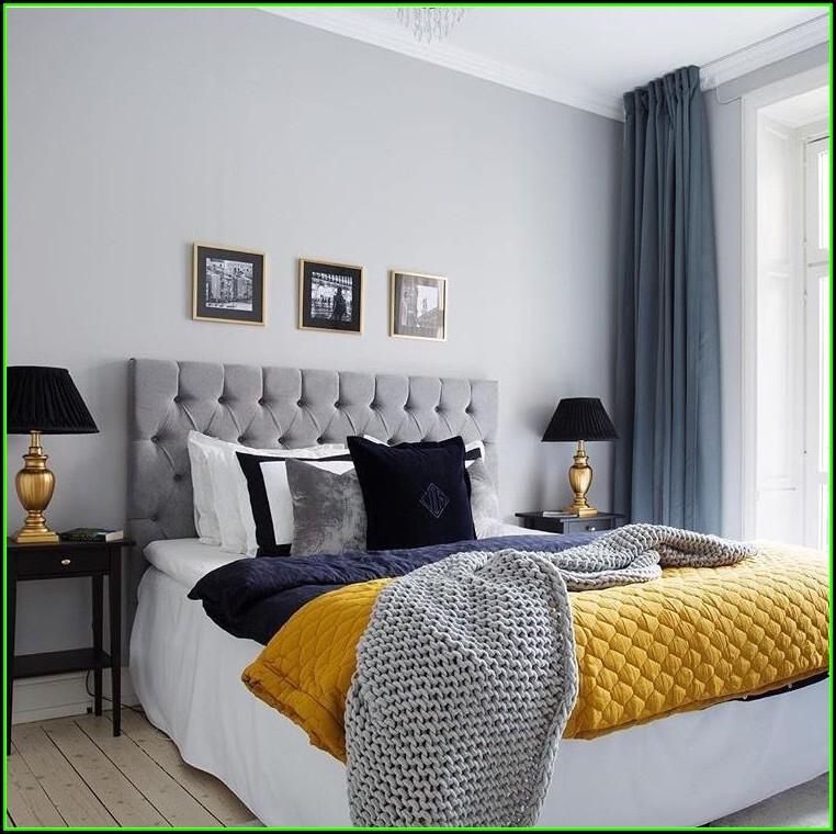 Schlafzimmer Ideen Dunkelblau