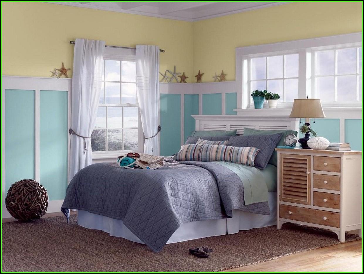 Schlafzimmer Ideen Grau Blau