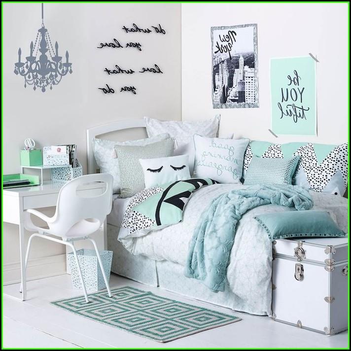 Schlafzimmer Ideen Grau Türkis