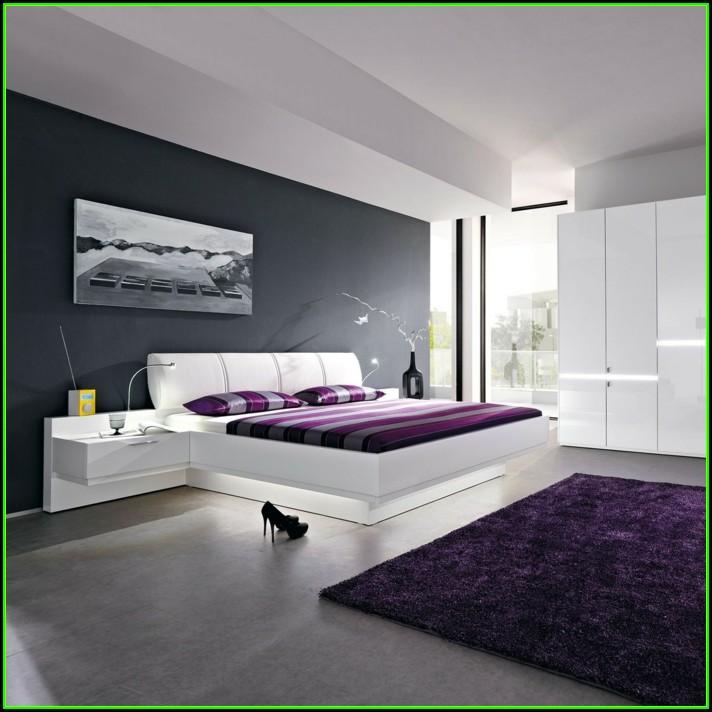 Schlafzimmer Ideen Lila Weiß
