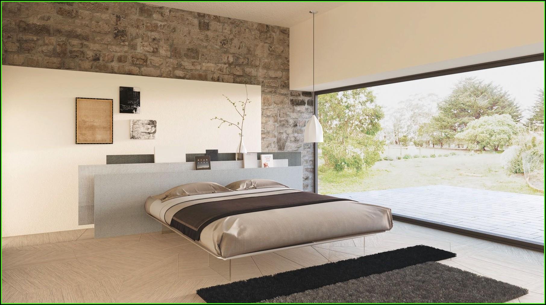 Schlafzimmer Ideen Wandgestaltung Grau