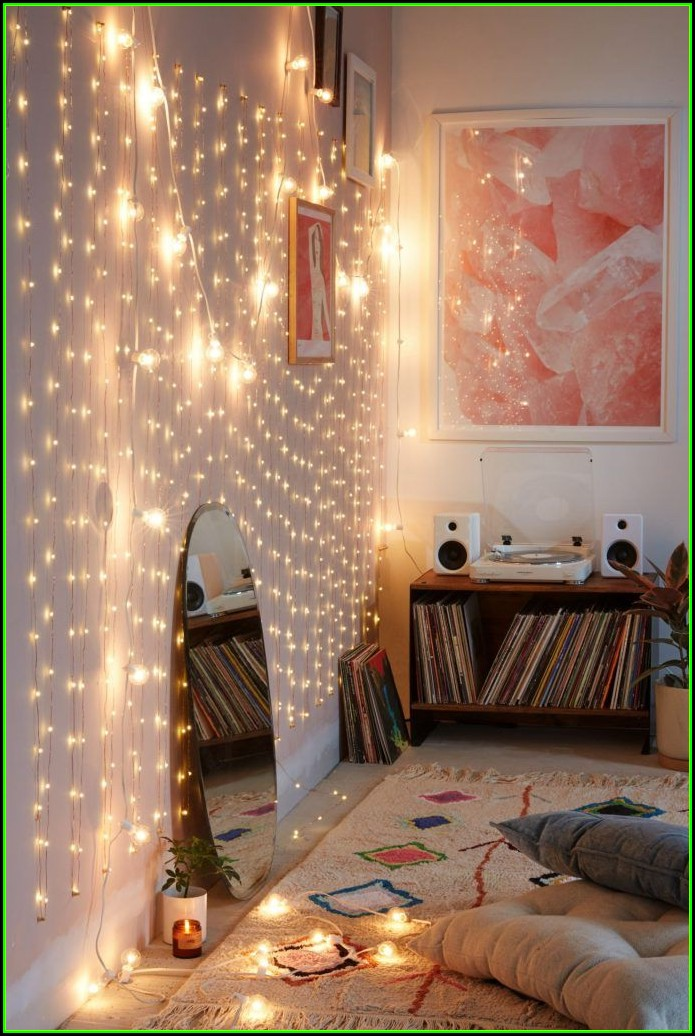 Schlafzimmer Lichterkette Ideen