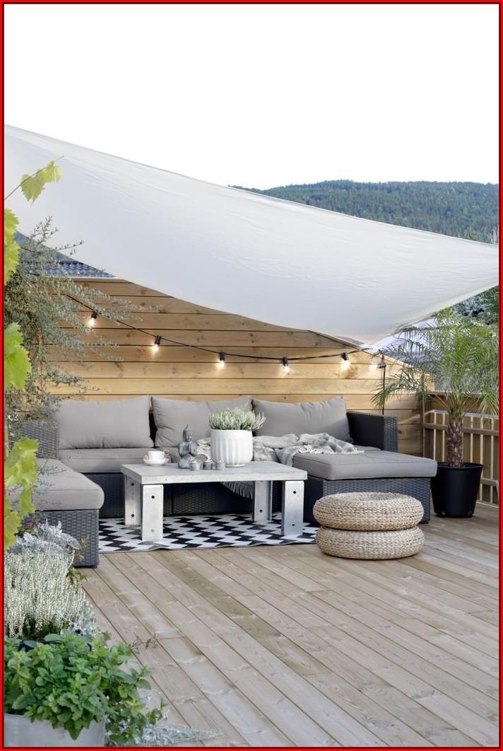 Terrassengestaltung Ideen Sichtschutz