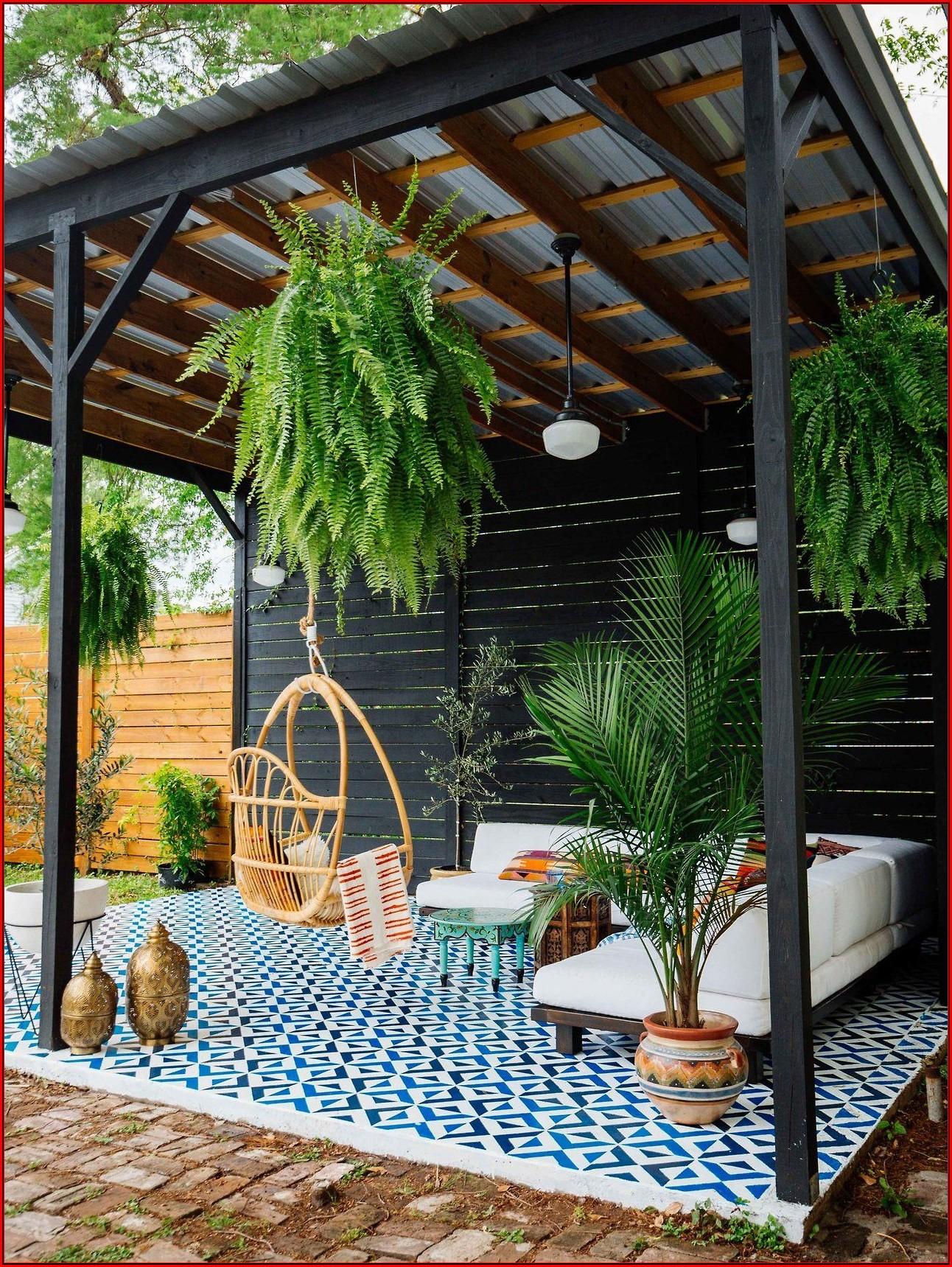 Vintage Terrassen Ideen