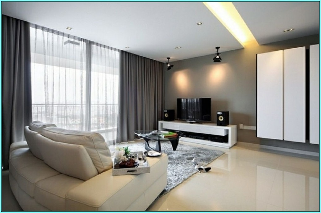 Vorhang Wohnzimmer Ideen Modern