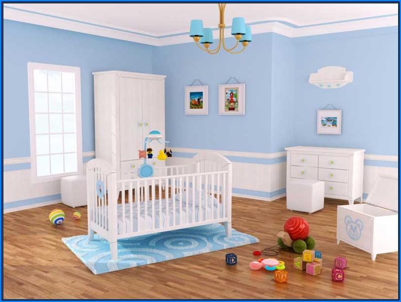 Wandfarbe Für Babyzimmer Junge Babyzimmer House und