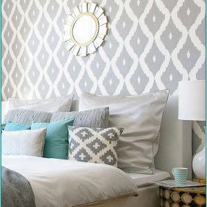 Wandfarben Muster Ideen Wohnzimmer