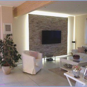 Wandgestaltung Tapeten Wohnzimmer Ideen