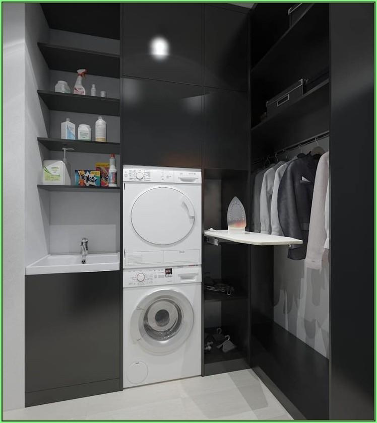 Waschmaschine Im Ankleidezimmer