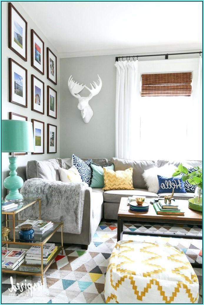 Wohnzimmer Ideen Graue Couch