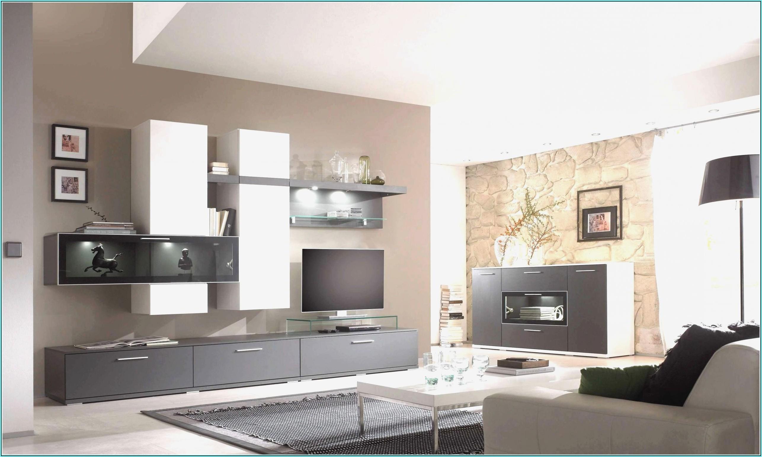 Wohnzimmer Ideen Schwarz Grau