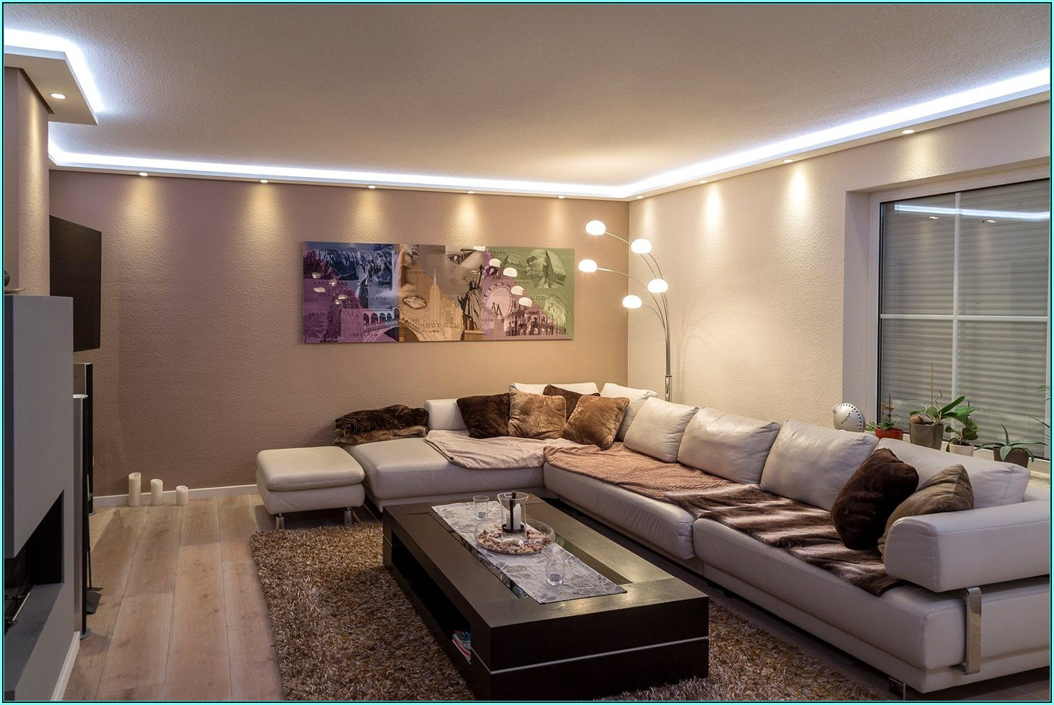 Wohnzimmer Led Ideen