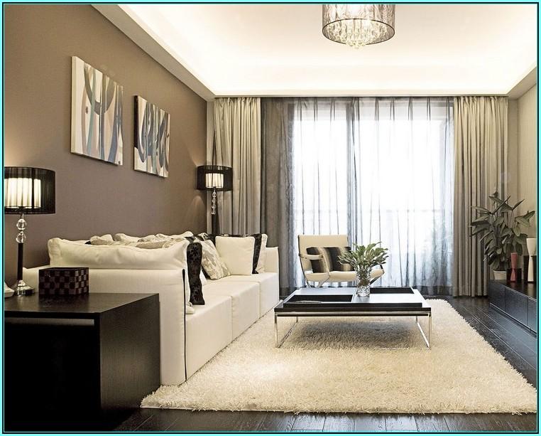 Wohnzimmer Streichen Ideen Braun