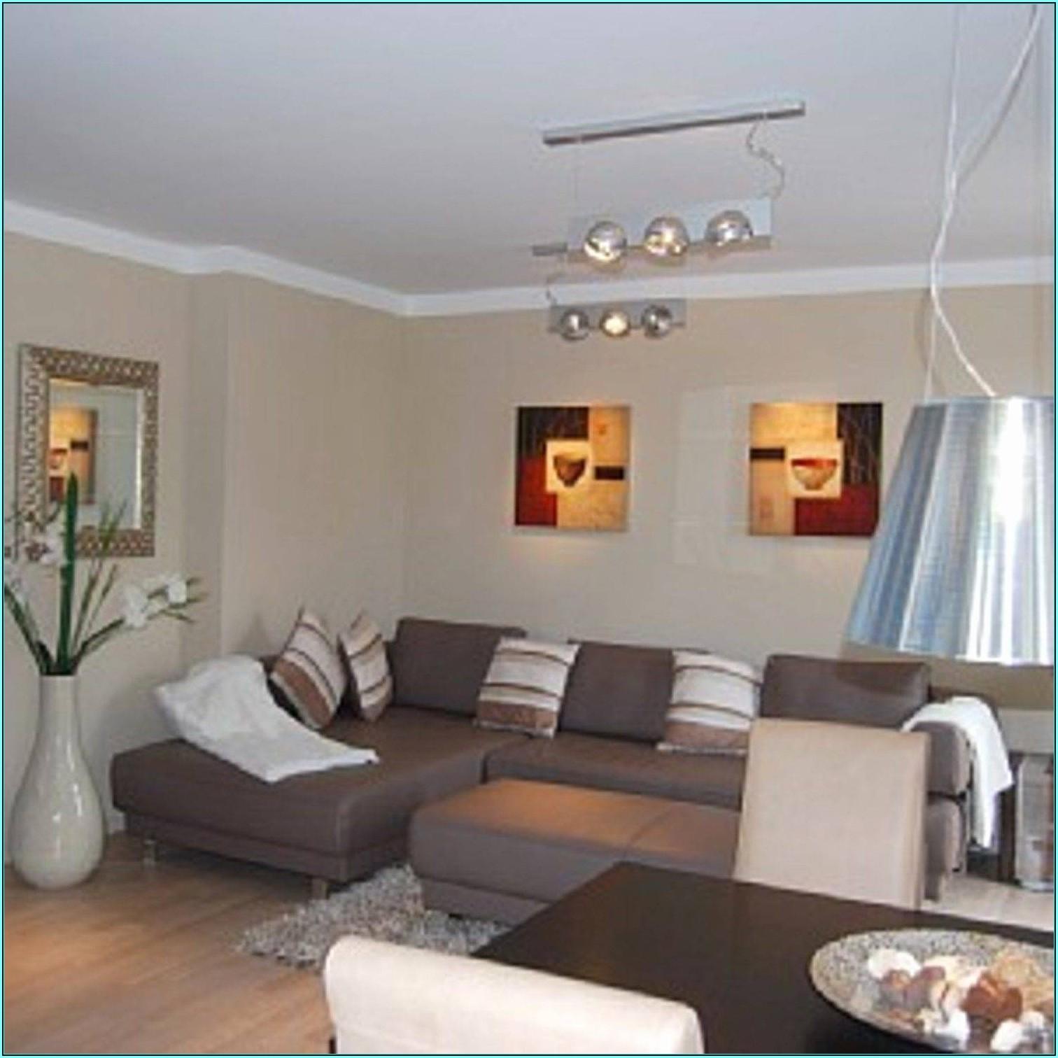 Wohnzimmer Tapeten Ideen Braun
