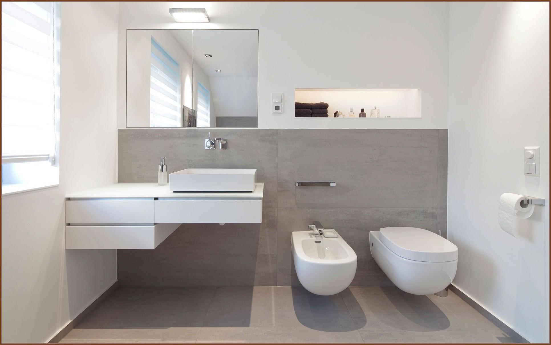 Badezimmer Fliesen Grau Bilder