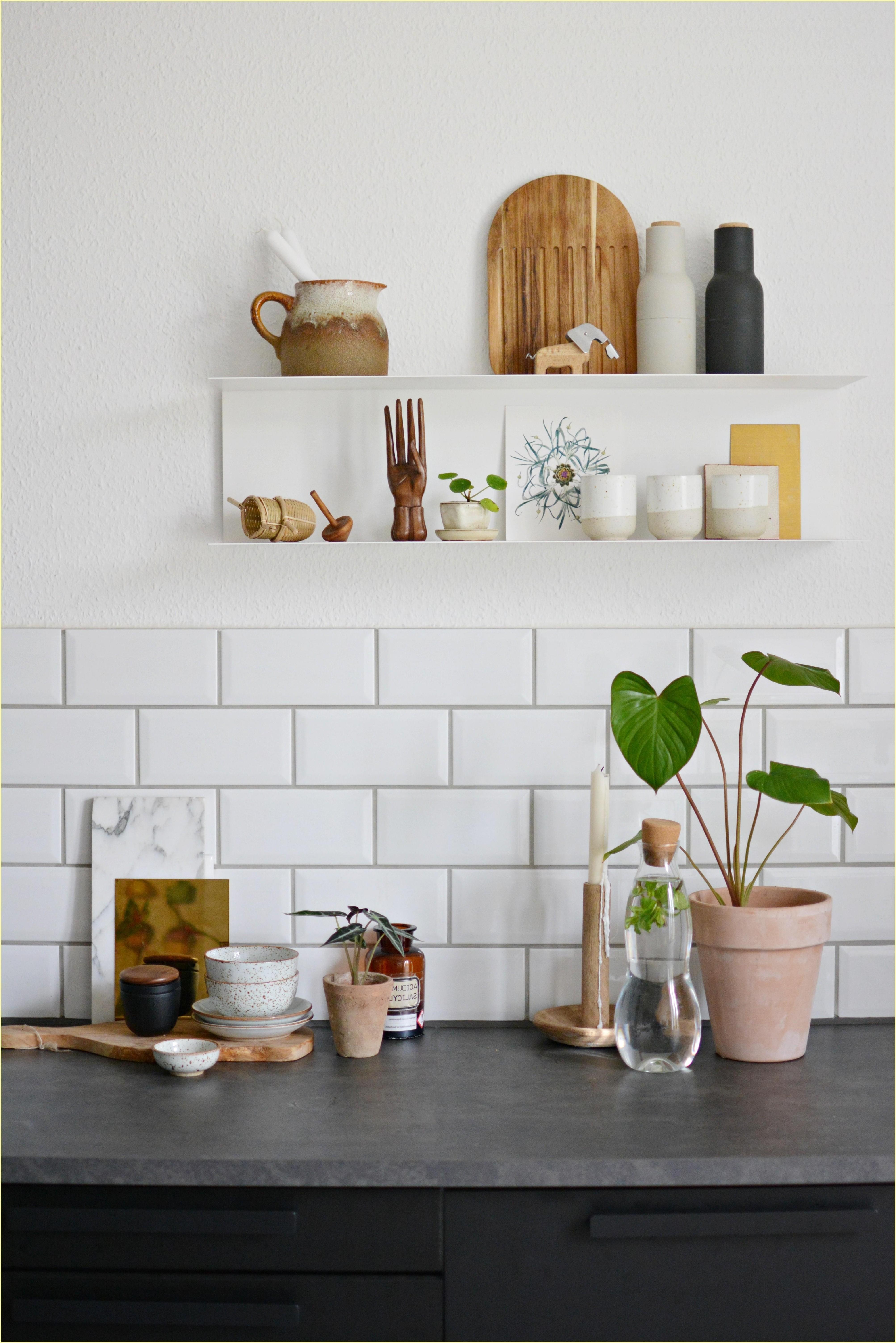 Deko Ideen Küche Grau