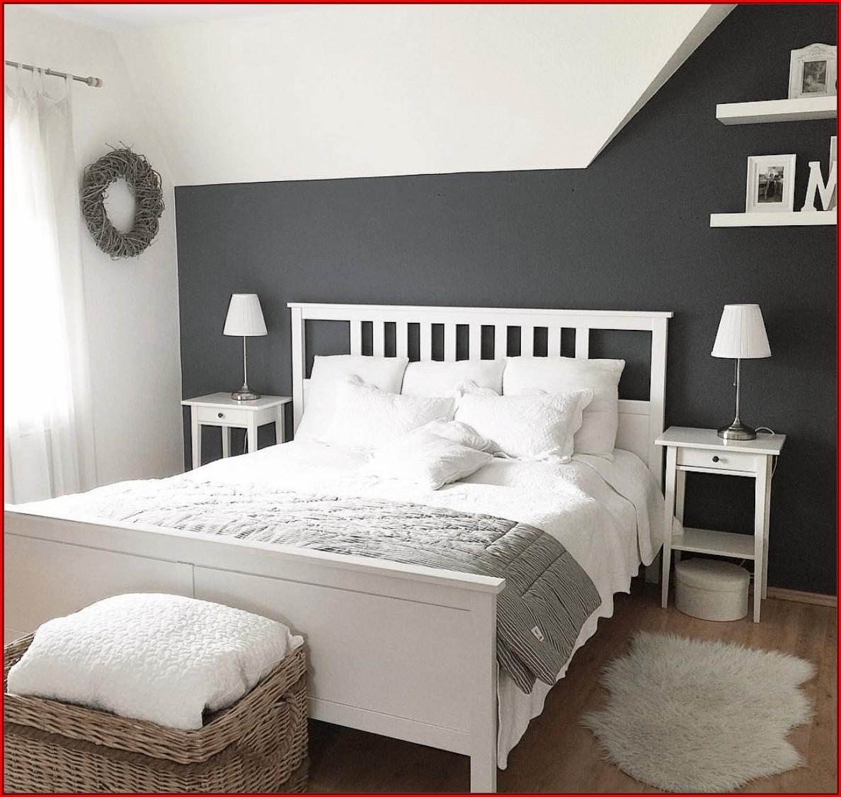 Deko Ideen Schlafzimmer Grau Weiß