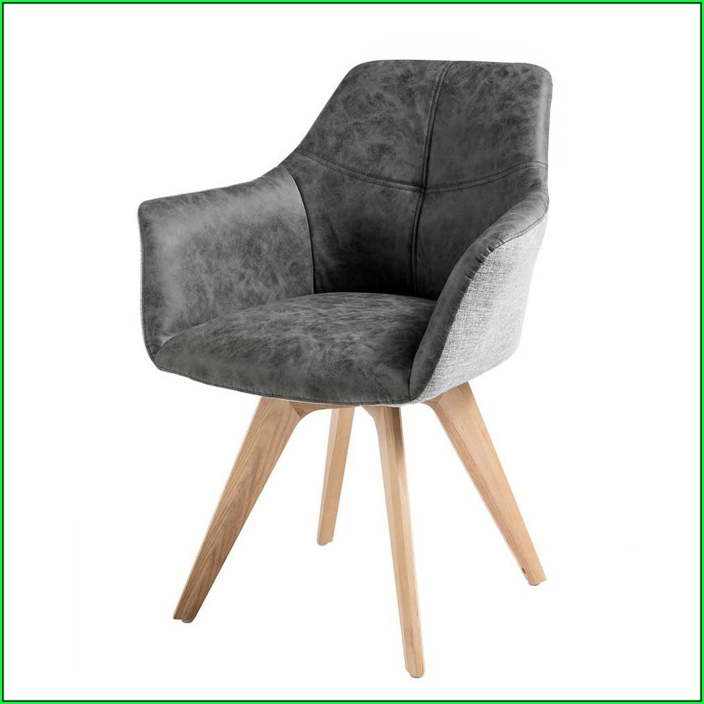 Esszimmer Stühle Polster Grau